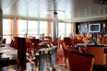 restaurace, loď,oběd, večeře, plavba po Rýnu