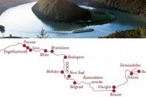 Mapa itineráře