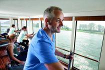 fitness a wellness na lodi, plavba lodí
