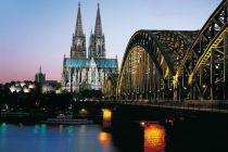 Kolín nad Rýnem, katedrála, most, plavba po Rýnu
