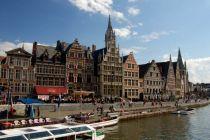 Gent, okružní plavba lodí