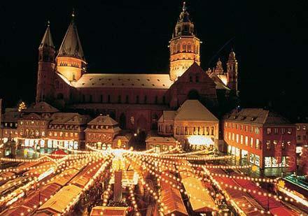 Vánoce na Rýnu: jižní část