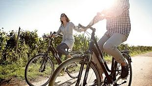 Výlety na kolech po okolí