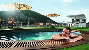Koupání a bazény - Odpočinkový bazén