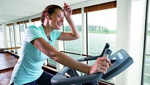 Posilovna a Fitness - Výhled na okolí během plavby