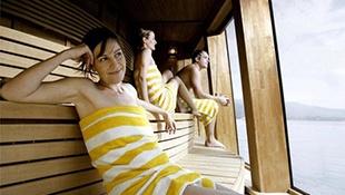 Sauny na palubě lodi - Finská sauna