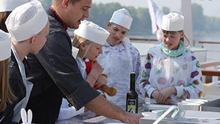 Vaření na palubě pro děti