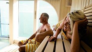 All Inclusive využití saun